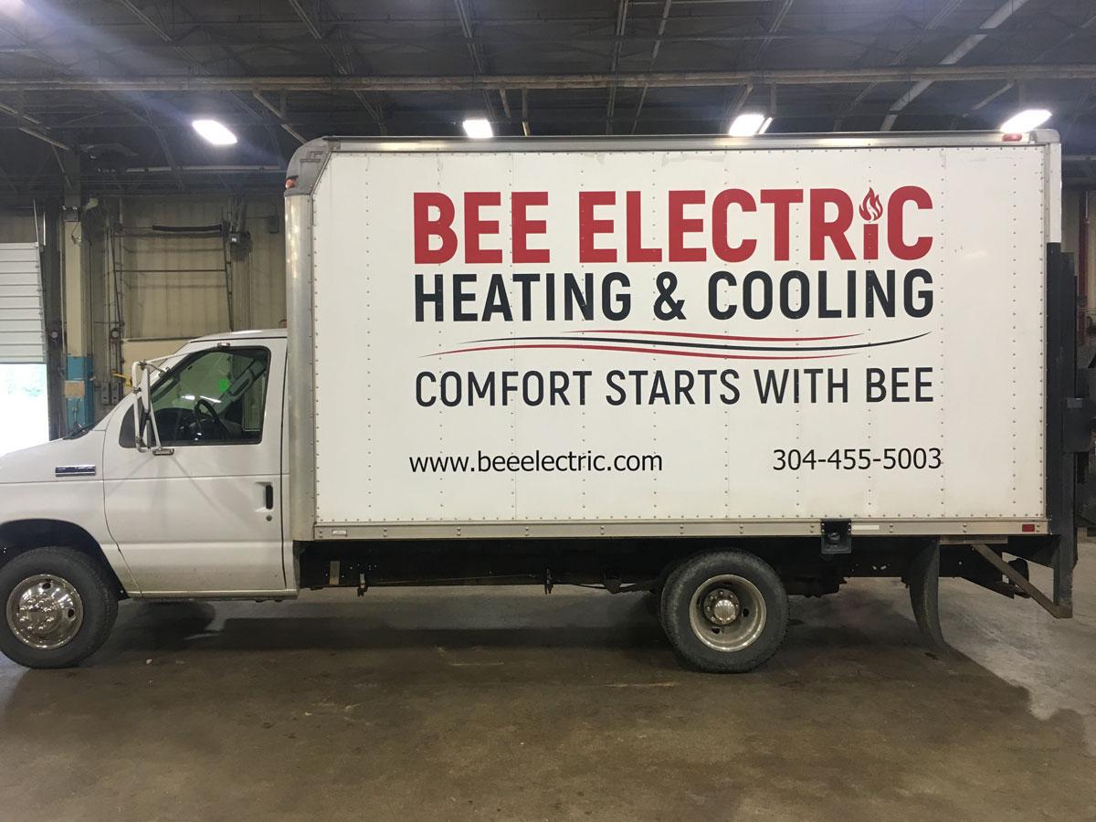 fleet lettering for box truck