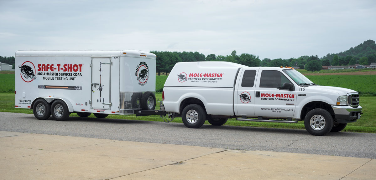 Fleet graphics for truck and trailer