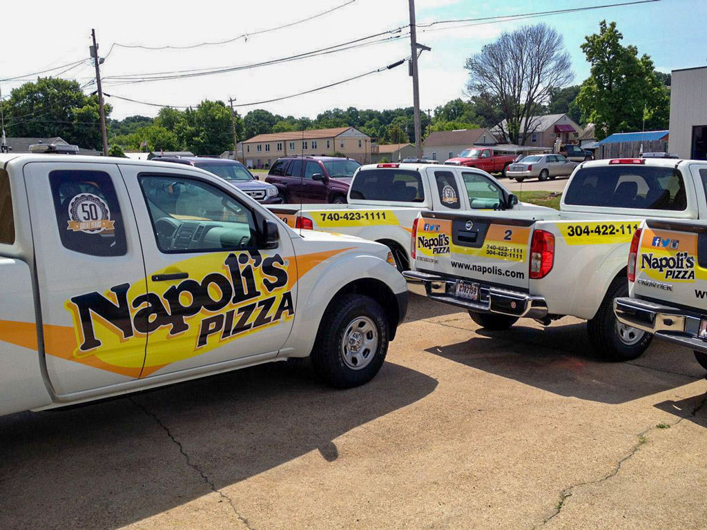 fleet graphics for delivery trucks
