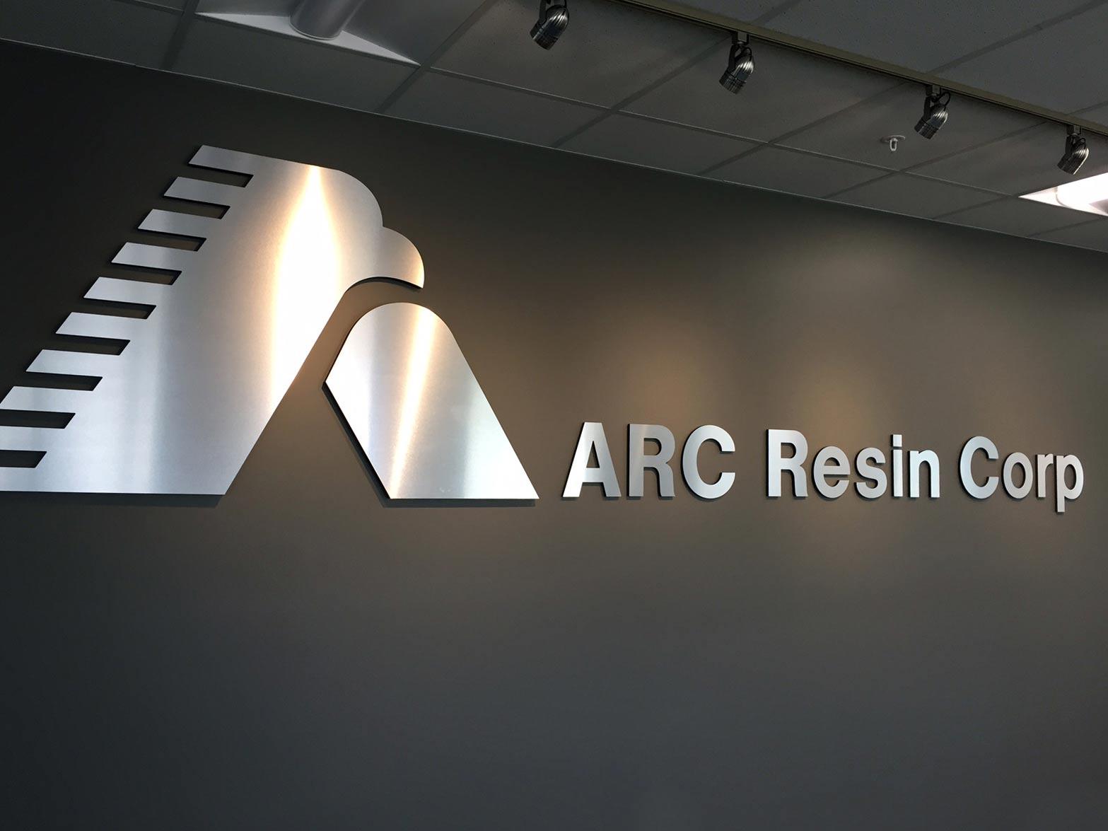 ARC metal indoor sign
