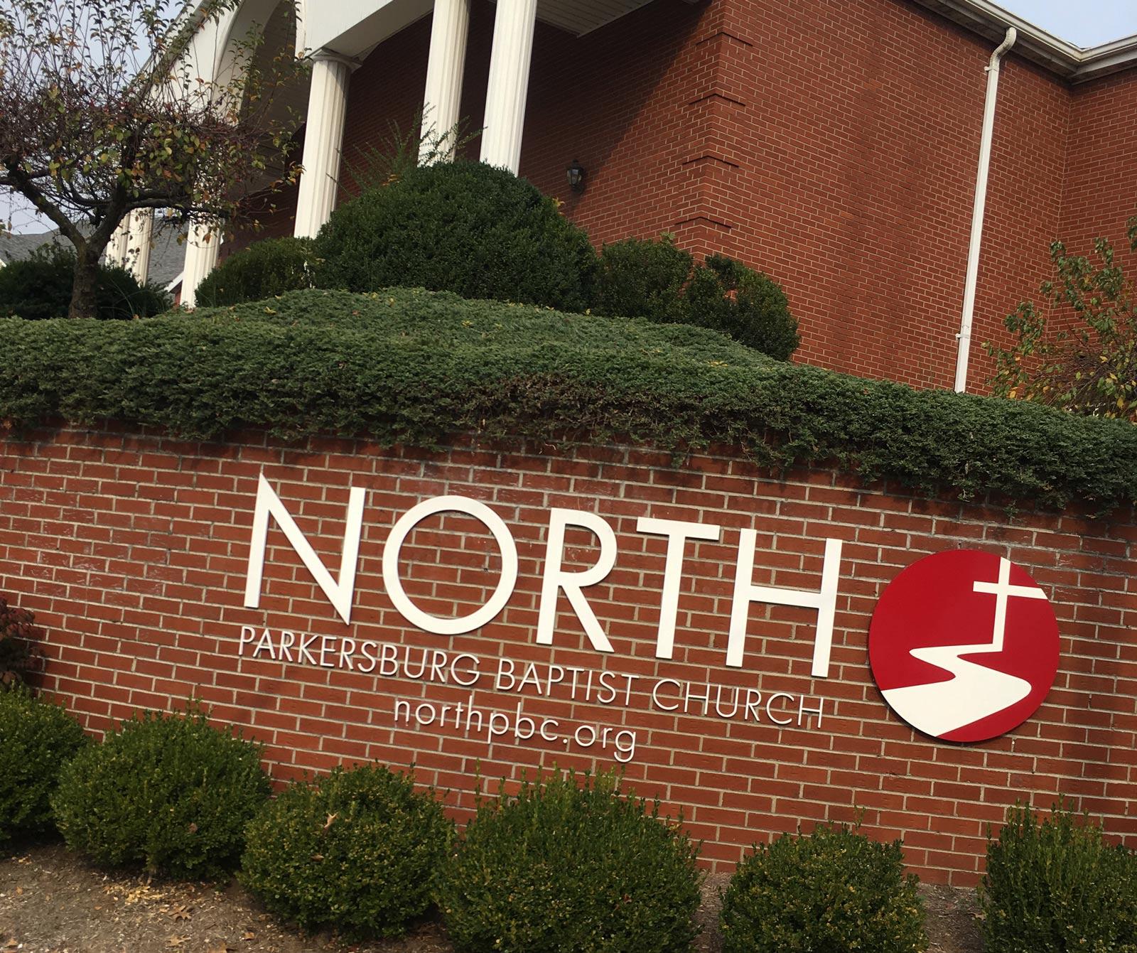 North Church 3D sign