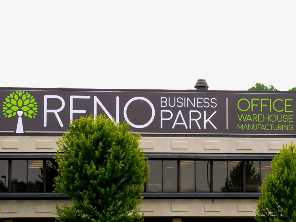 outdoor building banner