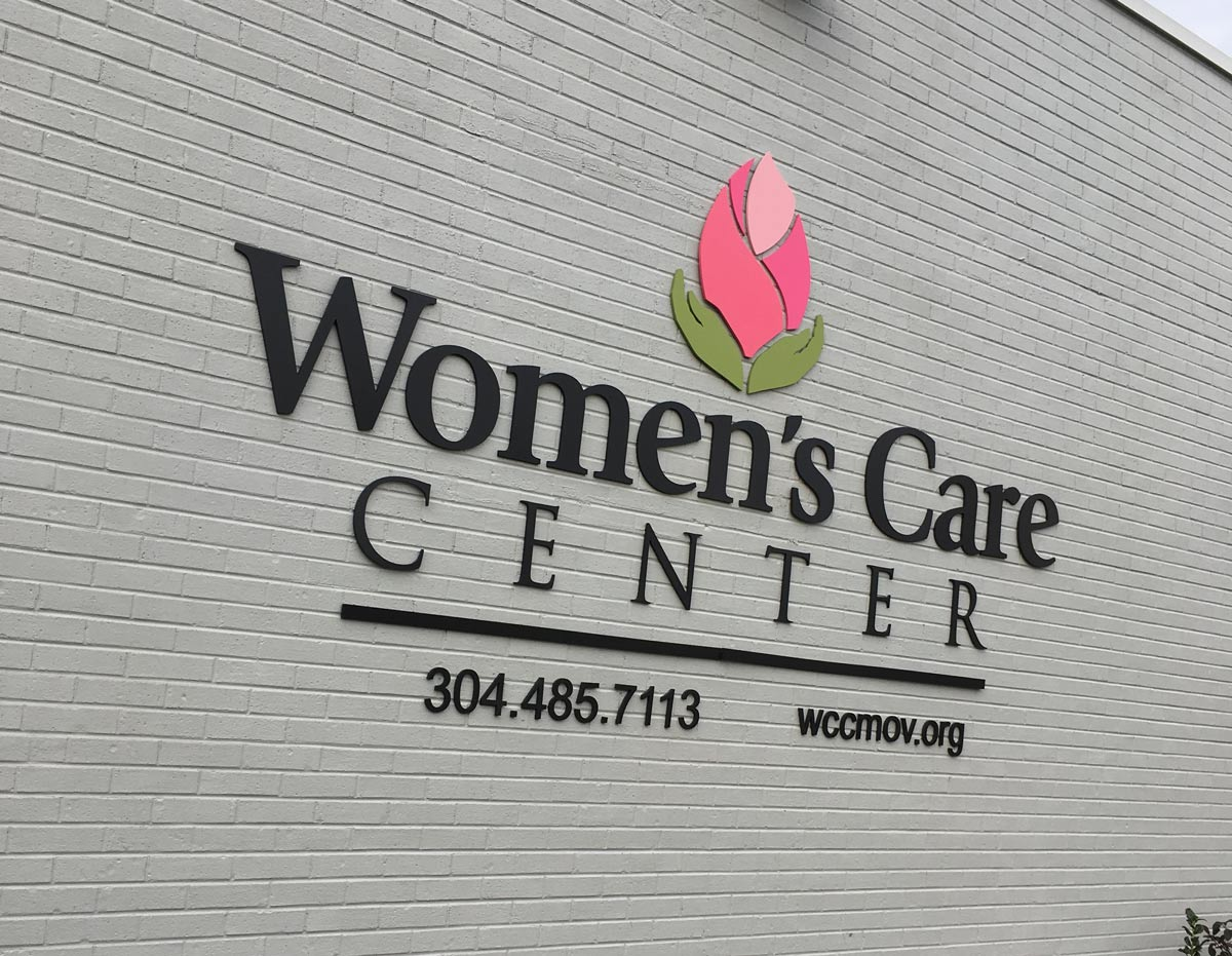 Women's Care Center 3D sign