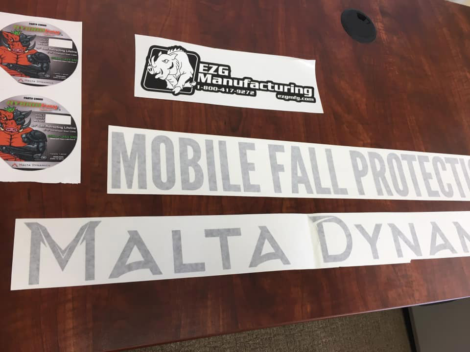 manufacturing decals